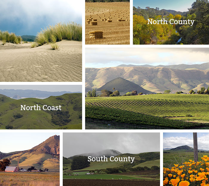 San Luis Obispo County Planning Areas